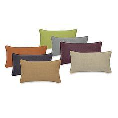 "Contemporary Loft Oblong Throw Pillow  B&BB $35  20""w  free shipping >$49"