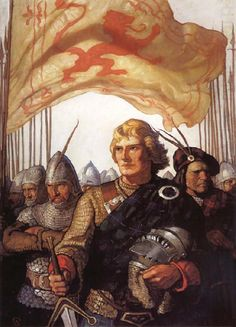 Scottish Chiefs - NC Wyeth ~ Just because. One of my favourite illustrators.