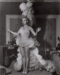 Betty Grable, once again I wish dancers could have costumes like this again!