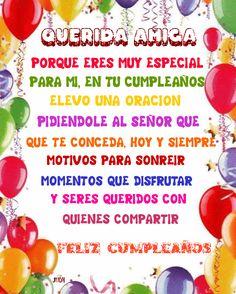Feliz Cumpleanos gif by judicha Birthday Poems, Happy Birthday Meme, Birthday Images, Christian Birthday Cards, 4th July Crafts, Brave Quotes, Happy B Day, Projects To Try, Birthdays
