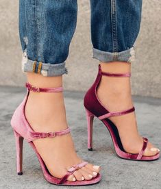 light blue pink valet triple buckle sandals open toe high heel shoes hot selling woman shoes summer newest sandals on sale Source by rodasi shoes high heels Pretty Shoes, Beautiful Shoes, Cute Shoes, Me Too Shoes, Open Toe High Heels, Hot High Heels, Stilettos, Pumps, Shoe Boots