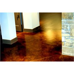 Stained concrete floors   # Pinterest++ for iPad #