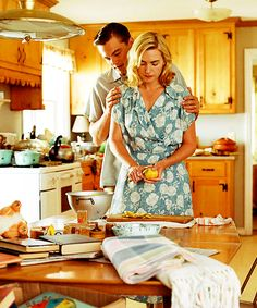 Kate and Leo in Revolutionary Road