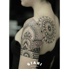 dot work stomach tattoos - Google Search