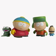 toy, south park, park mini, parks, kidrobot south, minis, blind 2pk, vinyl minifigur, mini seri