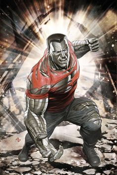 Unsung and under-rated Super Hero from X-Men, Colossus.