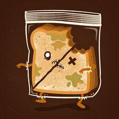 AH! ZOMBIE SANDWICH!