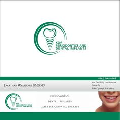 Design a classy logo for my dental implant office by galih go!!