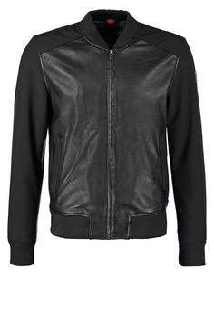 Freaky Nation JOHN Kurtka skórzana black 371.40zł #moda #fashion #men #mężczyzna #freaky #nation #john #kurtka #skórzana #black #przejściowa #wiosenna #jesienna #bluza #rozpinana #męska