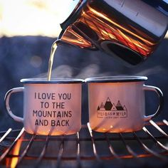 Outdoor hiking mugs