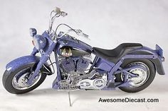 ONLY ONE - Franklin Mint 1:10 Harley Davidson Biker Blues