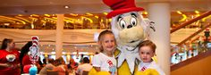Even the adults can have fun!! Green Eggs and Ham Breakfast with the Cat in the Hat and Friends | Carnival Cruise Lines