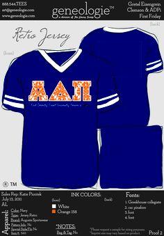 ADPi Zeta Nu-First Friday Parade tshirt