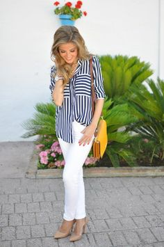 July 20th, 2013  #Striped #Shirts  Blouses ...