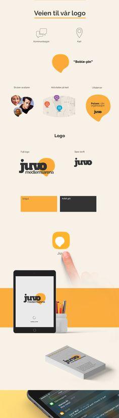 Dette er vår designprosess når vi laget logoen til Juvo. #mobileapp #ux #design #process #inspiration #mobile