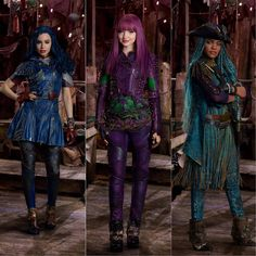 Mal Descendants 2, Descendants Wicked World, Descendants Characters, Disney Xd, Disney And Dreamworks, Dianne Doan, Live Action Movie, Action Movies, Mal And Evie