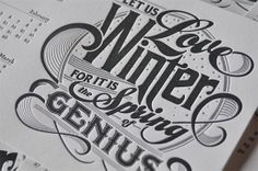 Handcrafted Lettering by Bryan Patrick Todd