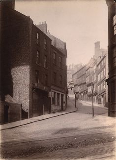 Side Newcastle upon Tyne Unknown 1899 Newcastle Quayside, Local Studies, Great North, North East England, Image Please, Bw Photography, Historical Pictures, Abandoned Places, Old Photos