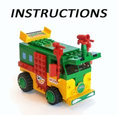 LEGO Instructions for the Turtle Party Wagon   Flickr - Photo Sharing!