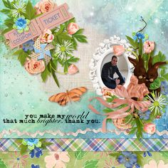 Digital Art :: Kits :: One Step Beyond 93 with FREE Pattern Papers