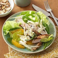 Chicken salad may be a classic, but these new recipes bring fresh interpretation. From curried-almond to sesame-ginger renditions, these easy chicken salad recipes shake up the status quo. Healthy Diabetic Diet, Healthy Recipes For Diabetics, Healthy Salads, Healthy Eating, Diabetic Recipes, Diabetic Salads, Chicken Lettuce Cups, Chicken Salad Recipes, Healthy Chicken