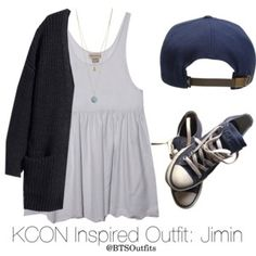 Inspired Outfit for KCON: Jimin
