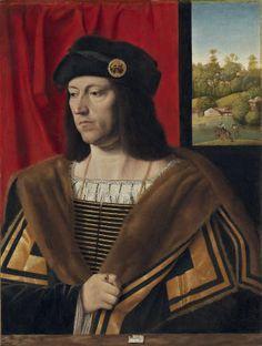 A Gentleman, ca 1520 (Bartolomeo Veneto) (fl.1502-1546) National Gallery of Art, Washington, D.C. 1939.1.257