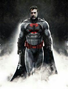 Negan as Thomas Wayne..... Flashpoint Batman. That would be tight.
