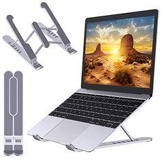 Babacom Supporto PC Portatile, Portatile Ventilato Desktop Porta PC, 6 Livelli Regolabile Ergonomico Raffreddamento L...