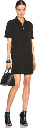 T by Alexander Wang Silk Georgette Shirt Dress - Shop for women's Shirt - Black Shirt