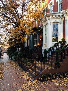 A little bit of the neighborhood!  #georgetown #dc #washingtondc