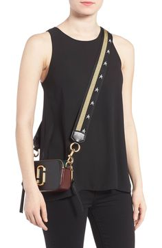 Main Image - MARC JACOBS Snapshot Leather Crossbody Bag Marc Jacobs  Crossbody Bag 85796605562
