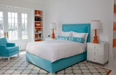 quarto-laranja - Connie Cooper Designs