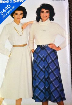 Vintage Sewing Pattern Butterick See & Sew by GoofingOffSewing