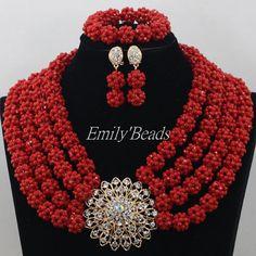 Lovely-4-Rows-Crystal-font-b-Beads-b-font-font-b-Necklace-b-font-Set-Nigerian.jpg (700×700)