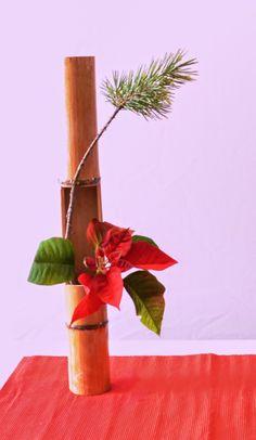 Ikebana: Jednostavne ideje za novogodišnje praznike