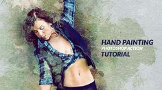 Hand Painting Photsohop Action Tutorial
