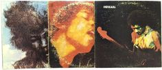 Jimi Hendrix #Vinyl Record Lot: The Cry of Love Band of Gypsys Electric Ladyland