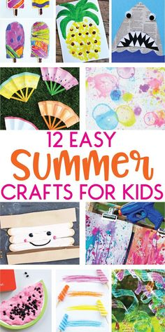12 Easy Summer Craft