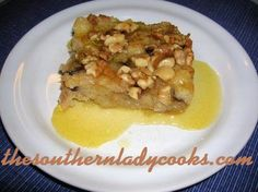 Kentucky Bread Pudding with Bourbon Sauce