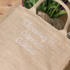 Personalised Canvas Shopping Bag | GettingPersonal.co.uk