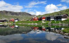 Another sunny day in Finse, Norway.