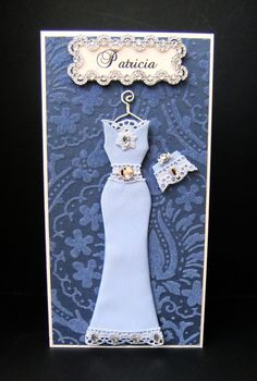 Patricia Personalized Dress Card