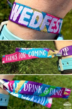 generic festival wedding wristbands http://www.wedfest.co/generic-wedfest-festival-wedding-wristbands/