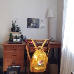 {desk space}