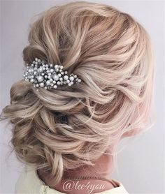Wedding Hairstyles » Come and See why You Can't Miss These 30 Wedding Updos for Long Hair » Chic Wedding Hair Updos for Elegant Brides