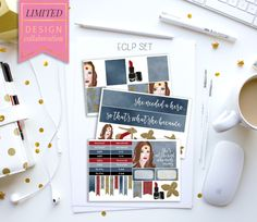 Limited Edition: Girl Power Planner Stickers – Stylish Planners