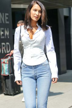 Bella Hadid Out And About In New York