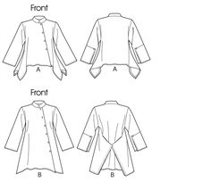 V 1274 big shirt with style .. this is my favorite pattern of all time.  I make it using multiple fabrics on each shirt and get a lot of compliments!  I wear a size 12 and the M fits perfectly with room at the hip.