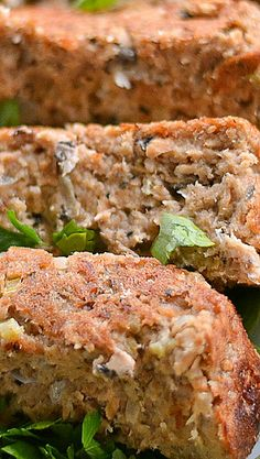 Salmon Loaf... make a dill sauce to spoon over the top...ummmm wonderful!